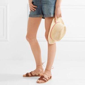 Ancient Greek Sandals Polyxeni Lace Up Sandals